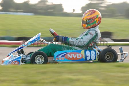Rd 7 MI Kart Champs Cork 2012 Saturday practice