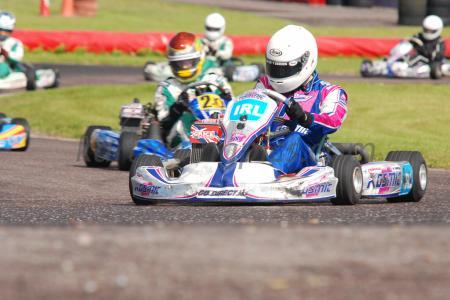 Rd 7 MI Kart Champs Cork 2012 Rotax max