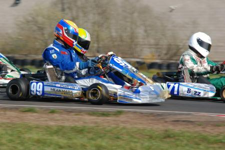 Rd1 Ulster Kart Champs Nutts Corner 2012 Rotax Max