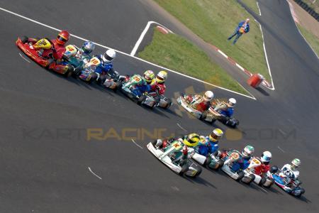 Rd1 Ulster Kart Champs Nutts Corner 2012 Cadet