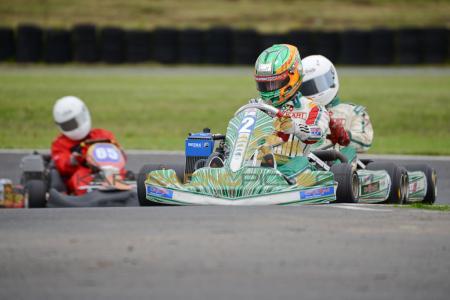 UKC 'GP' 2013 plate Rotax Max