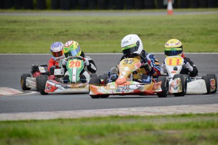 UKC 'GP' 2013 plate Honda Cadet