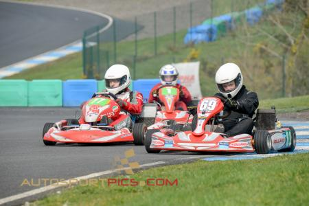 Rd 2 MI Kart Champs Whiteriver 2014 Super 4 Open 125